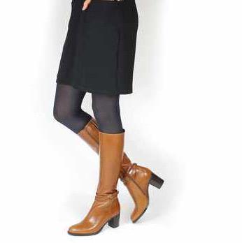 bottes marron