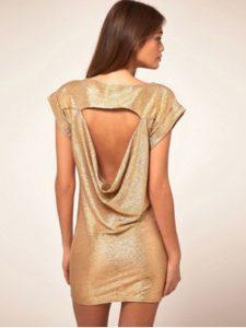 robe soutien gorge dos nus