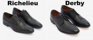 Richelieu vs Derby Chaussures